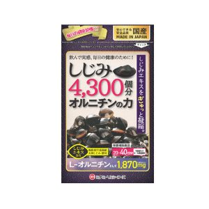 Viên uống bổ gan L-ornitine Shijimi Minami