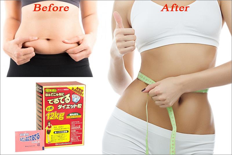 Viên uống gảm 12kg Minami hỗ trợ giảm cân hiệu quả