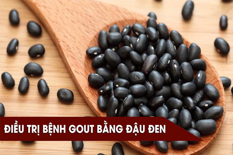 Bạn có biết bài thuốc chữa bệnh gout bằng đậu đen không?