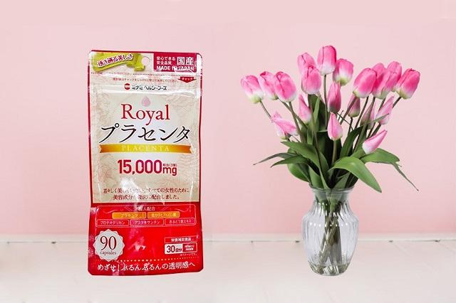 Viên uống nhau thai heo Minami Nhật Bản đóng thành túi zip tiện lợi