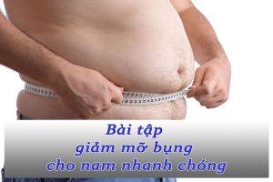 5 bài tập giảm mỡ bụng cho nam thực hiện siêu dễ dàng