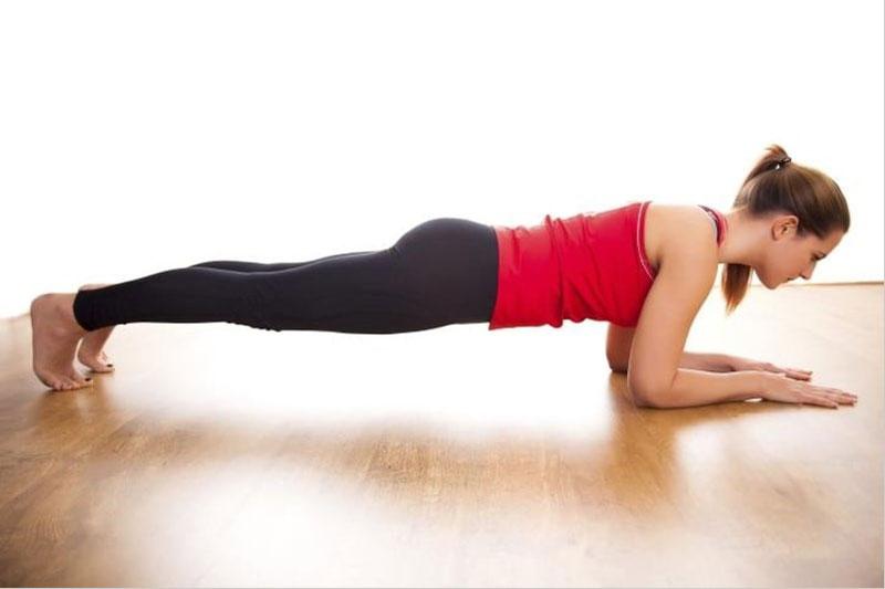 Bài tập Plank giảm cân toàn thân