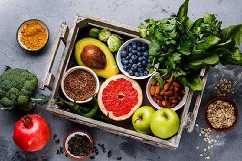 Thực phẩm nguyên chất giúp giảm cân hiệu quả