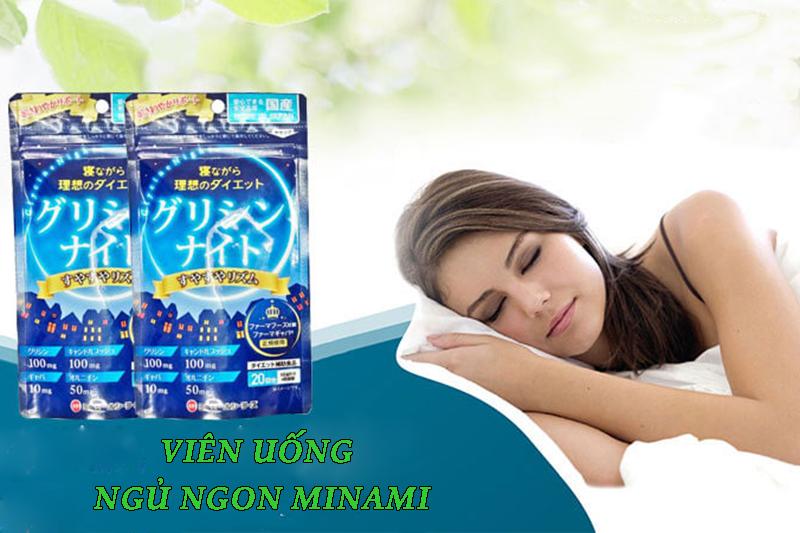 Viên uống hỗ trợ giấc ngủ Minami được rất nhiều người tin dùng để chữa trị mất ngủ.
