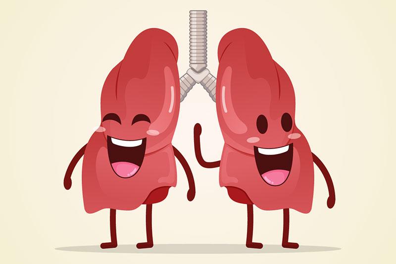 Thường xuyên chạy bộ để có lá phổi khỏe mạnh