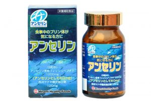 Viên trị gout Anserine Minami 240 viên