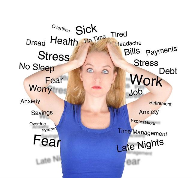 Trong đầu luôn suy nghĩ nhiều việc gây căng thẳng