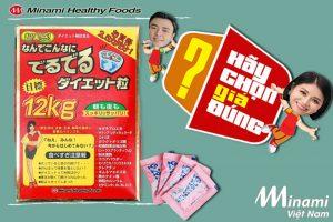 Viên uống giảm cân 12kg Minami lên sóng Hãy chọn giá đúng trên VTV3