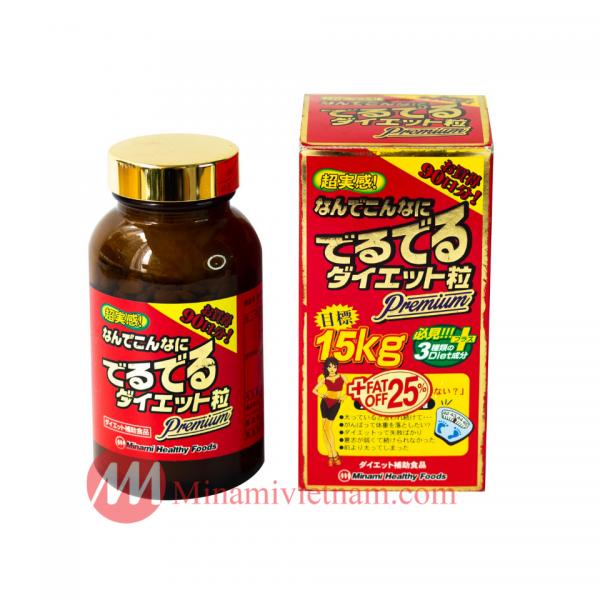 Viên uống giảm cân 15kg Minami